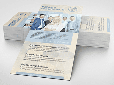 Rack Card Offset Printing Philadelphia